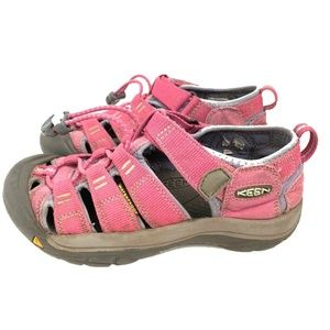 Keen Girls Bright Pink Purple Sandal Shoes Size 2